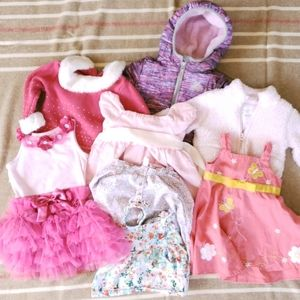 Other - Girls Lot of Jackets, Dresses and Shirts 12-24m.